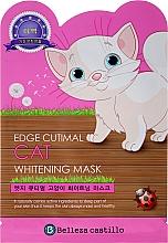 """Profumi e cosmetici Maschera in tessuto """"Cat"""" - Belleza Castillo Edge Cutimal Cat Anti-Wrinkle Mask"""
