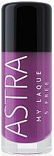 Profumi e cosmetici Smalto unghie - Astra Make-up My Laque 5 Free
