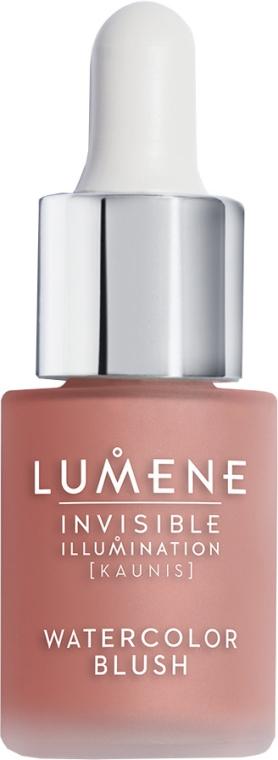 Blush-illuminante liquido - Lumene Invisible Illumination Watercolor Blush