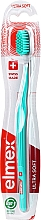 Profumi e cosmetici Spazzolino da denti, ultra morbido, turchese - Elmex Swiss Made Ultra Soft Toothbrush