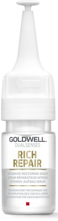 Siero rigenerante per capelli danneggiati - Goldwell Dualsenses Rich Repair Intensive Restoring Serum — foto N1