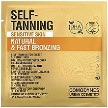 Profumi e cosmetici Salvietta autoabbronzante per pelli sensibili - Comodynes Self-Tanning Sensitive Skin