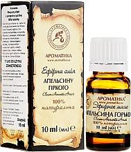 Profumi e cosmetici Olio essenziale di arancia amara - Aromatiche