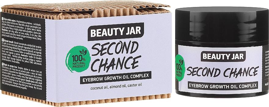 Complesso di olio per la crescita delle sopracciglia - Beauty Jar Second Chance Eyebrow Growth Oil Complex