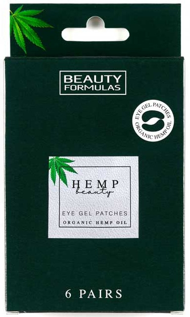 Patch in gel sotto gli occhi - Beauty Formulas Hemp Beauty Eye Gel Patches