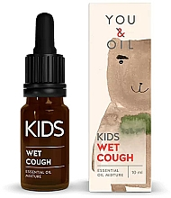 Profumi e cosmetici Miscela di oli essenziali per bambini - You & Oil KI Kids-Wet Cough Essential Oil Mixture