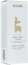 Profumi e cosmetici Crema sotto pannolino idratante e protettiva per bambini - Babe Laboratorios Nappy Rash Cream