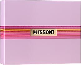 Profumi e cosmetici Missoni Missoni - Set (edt/50ml + b/milk/50ml + sh/gel/50ml)