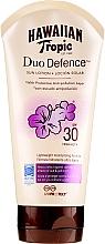 Profumi e cosmetici Crema solare per il corpo - Hawaiian Tropic Duo Defence Sun Lotion SPF30