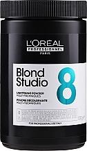Profumi e cosmetici Polvere schiarente con procheratina per capelli - L'Oreal Professionnel Blond Studio 8 Multi-Techniques Powder