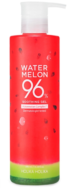 Gel rinfrescante e idratante all'anguria - Holika Holika Watermelon 96% Soothing Gel