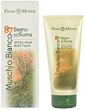 Profumi e cosmetici Frais Monde Muschio Bianco 87 White Musk Bath Foam - Schiuma bagno
