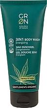 Profumi e cosmetici Gel doccia 3 in 1 - GRN Gentlemen's Organic Hemp & Hop 3-in-1 Body Wash