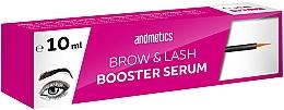 Profumi e cosmetici Siero per la crescita delle sopracciglia e ciglia - Andmetics Brow & Lash Booster Serum
