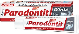 Profumi e cosmetici Dentifricio sbiancante - Dental Anti-Parodontit White
