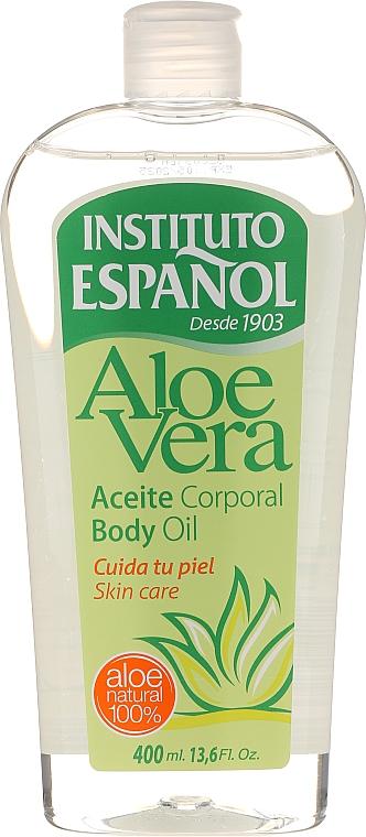 """Olio corpo """"Aloe vera"""" - Instituto Espanol Aloe Vera Body Oil"""