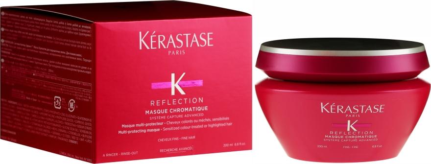 Maschera per capelli tinti - Kerastase Reflection Masque Chromatique Fine Hair
