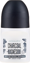 "Profumi e cosmetici Deodorante roll-on ""Carbone"" - Schmidt's Carbon + Magnesium Deo Roll-On"