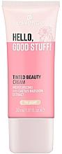 Profumi e cosmetici Crema tonificante - Essence Hello Good Stuff! Tinted Beauty Cream