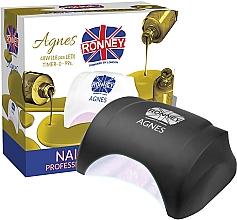 Profumi e cosmetici Lampada LED per unghie, enera - Ronney Profesional Agnes LED 48W (GY-LED-032)
