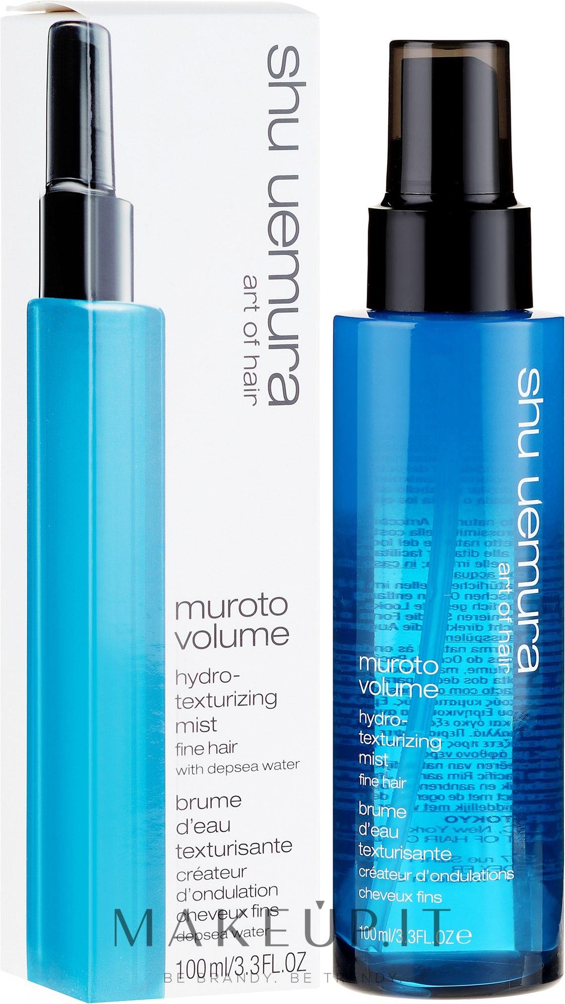 Emulsione modellante idratante - Shu Uemura Art of Hair Muroto Volume Hydro Texturising Mist — foto 100 ml
