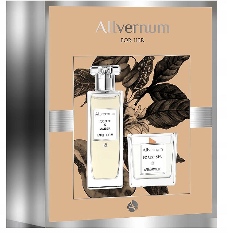 Allvernum Coffee & Amber - Set (edp/50ml + candle/100g)
