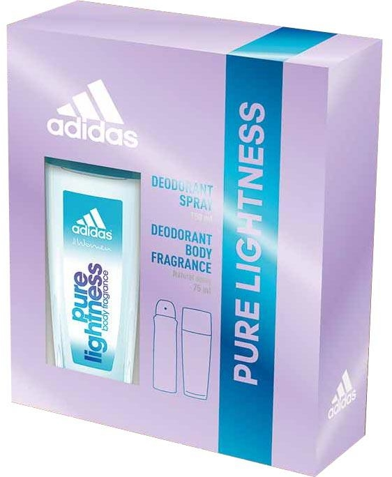 Adidas Pure Lightness - Set (deo/75ml+spray/150ml)