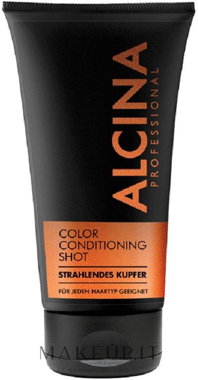 Balsamo colorato per tonalizzare i capelli - Alcina Color Conditioning Shot — foto Copper