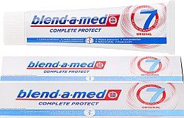 Profumi e cosmetici Dentifricio - Blend-a-med Complete Protect 7 Original