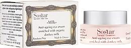 Profumi e cosmetici Crema contorno occhi anti-età - Sostar Anti-Aging Eye Cream Enriched With Donkey Milk