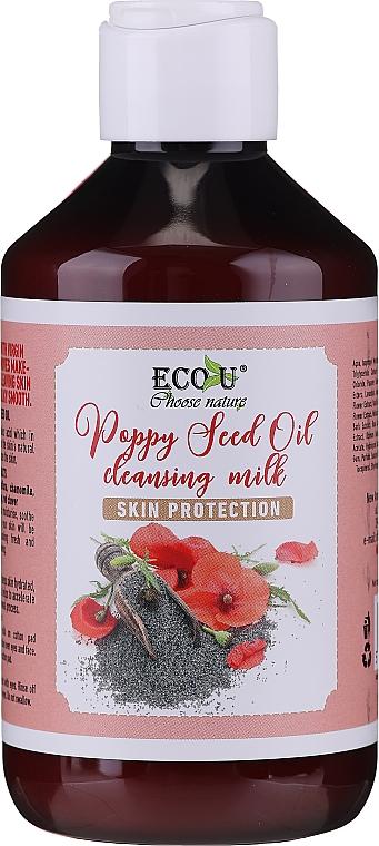 Latte detergente viso - Eco U Poppy Seed Oil Cleansing Milk