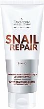 Profumi e cosmetici Maschera attiva antietà alla bava di lumaca - Farmona Professional Snail Repair Active Rejuvenating Mask With Snail Mucus