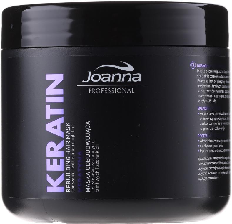 Maschera capelli alla cheratina - Joanna Professional