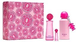 Profumi e cosmetici Tous Kids Girl - Set (edt/100ml + edt/mini/4ml + bottle)
