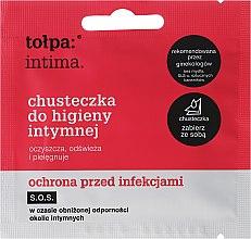 Profumi e cosmetici Salviettine intime antibatteriche, 1 pz - Tolpa Intima