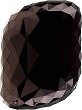 Profumi e cosmetici Spazzola per capelli, nera - Twish Spiky 4 Hair Brush Diamond Black