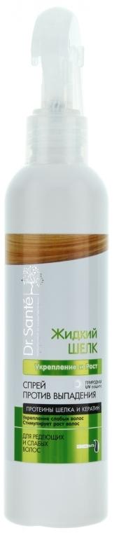 """Spray capelli anti-caduta """"Rafforzamento e crescita"""" - Dr. Sante Silk Care Spray"""