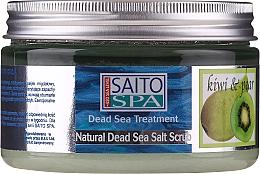 "Profumi e cosmetici Scrub corpo al sale ""Kiwi e pera"" - Saito Spa Aalt Body Scrub Kiwi Pear"