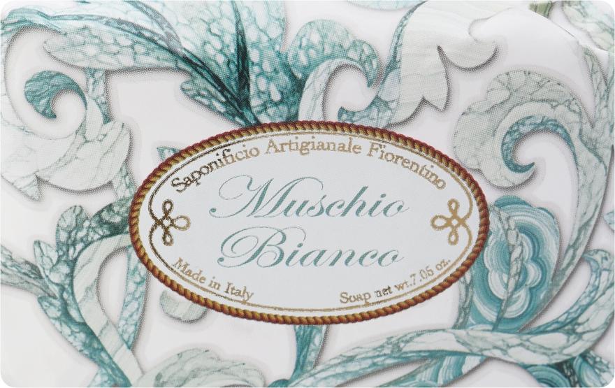 """Sapone artigianale """"Muschio bianco"""" - Saponificio Artigianale Fiorentino White Musk"""