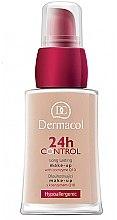 Profumi e cosmetici Fondotinta con coenzima Q10 - Dermacol 24h Control Make-Up