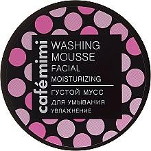 "Profumi e cosmetici Mousse detergente ""Idratante"" - Cafe Mimi Washing Mousse Facial Moisturizing"