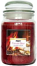 "Profumi e cosmetici Candela profumata ""Camino"" - Airpure Jar Scented Candle Fireside Glow"
