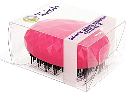 Profumi e cosmetici Spazzola per capelli, fucsia - Twish Spiky 2 Hair Brush Hot Pink