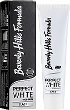 Profumi e cosmetici Dentifricio - Beverly Hills Perfect White Black