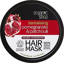"Profumi e cosmetici Maschera per capelli ""Melograno e Paucouli"" - Organic Shop Mask Pomegranate and Patchouli"