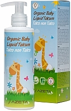 Profumi e cosmetici Crema per bambini con talco liquido - Azeta Bio Organic Baby Liquid Talcum