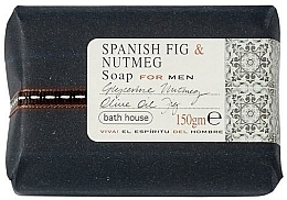 Profumi e cosmetici Bath House Spanish Fig and Nutmeg - Sapone profumato