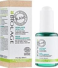 Profumi e cosmetici Olio riequilibrante per il cuoio capelluto - Biolage R.A.W. Scalp Care Rebalance Scalp Oil