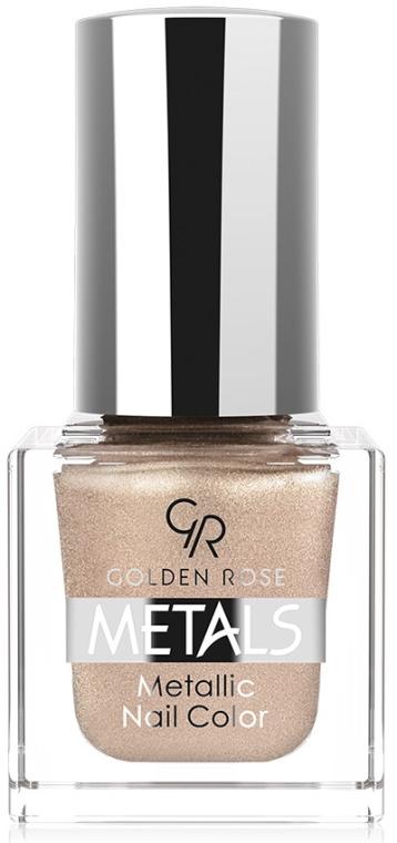 Smalto per unghie - Golden Rose Metals Metallic Nail Color