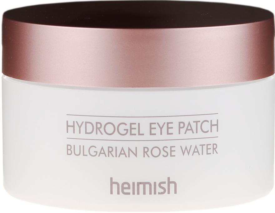 Patch all'idrogel con estratto di rosa bulgara - Heimish Bulgarian Rose Hydrogel Eye Patch